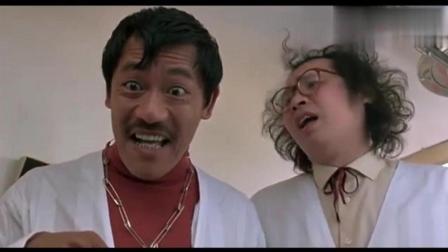 成龙动作电影, 洪金宝在精神病院遇吴耀汉上演搞