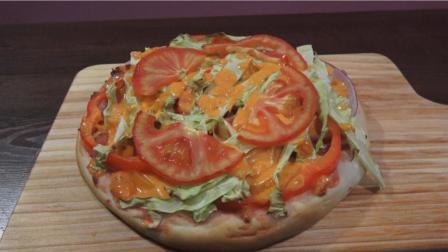 我是李酒妹儿, 教大家做一款家庭版手工什锦披萨