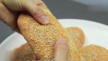 大厨油酥烧饼如何起酥, 全靠两个技巧, 详细操作