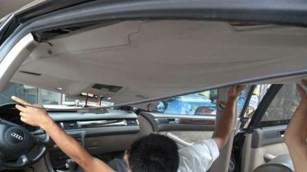 汽车内饰顶棚脏了怎么办? 老司机教你正确清洗方法, 免得越洗越脏