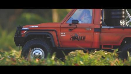 RC4WD Trail Finder 2 LC70 仿真攀爬遥控车玩穿越