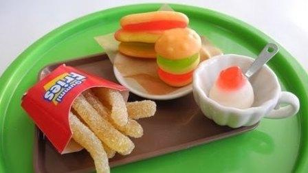 趣味食玩:儿童手工DIY,一起来制作美味的麦当劳早餐汉堡吧!