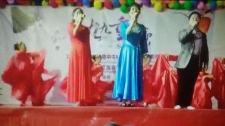 庆祝重阳节: (幸福安康): 歌伴舞: 民族舞: 广场舞: