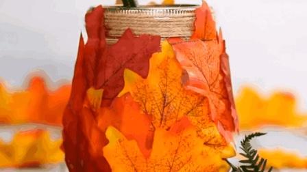 简单枫叶DIY方法 生活达人教你如何利用树叶DIY装饰品