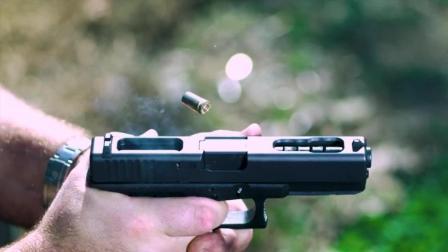 可以全自动射击的手枪, 射速高达1300发每分钟, 堪比冲锋枪的格洛克18C手枪