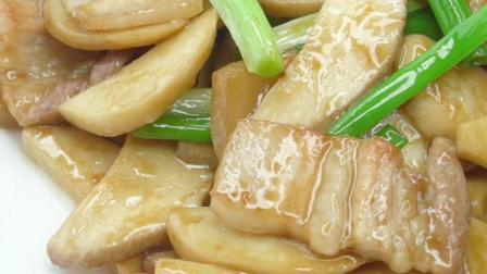 百吃不厌的杏鲍菇炒肉, 米饭是绝配, 3分钟就学会, 好吃又下饭