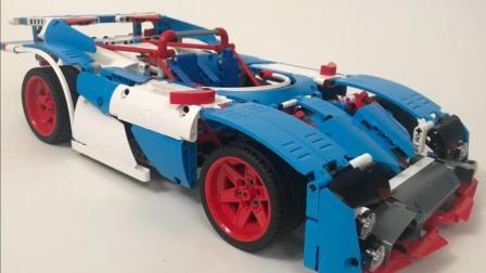 乐高 LEGO MOC 保时捷 1970 Can-Am 传奇跑车
