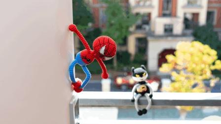 [267]巧织馆-蜘蛛侠蝙蝠侠玩偶手工编织网07月13日更新