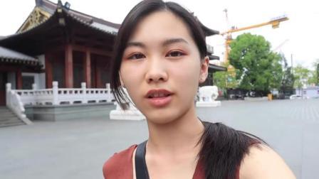 台湾小姐姐的杭州之旅! 看见钱塘江觉得超级壮观超美的
