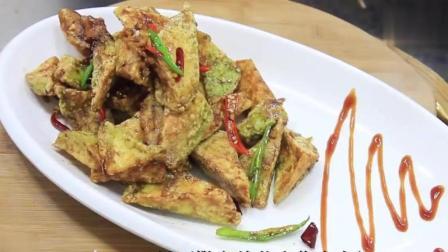 四川厨师教你脆皮茄子的家常做法, 做法简单, 口感美味