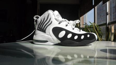 Nike Zoom SONIC FLIGHT 佩顿猴爪黑白配色开箱加上脚 By Mcnelson球鞋!