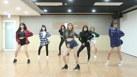 韩国女团AOA练习室热舞excuse me高清完整版
