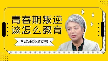 李玫瑾教授专访: 青春期叛逆问题, 作为家长到底该怎么教育孩子!