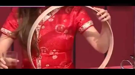 宇宙少女程潇穿旗袍表演中国杂技, 韩国嘉宾全程目不转睛观看