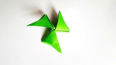 折纸王子折纸三叶旋转风车