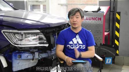 这辆非承载车身的底盘如何? 荣威RX8底盘拆解