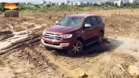 福特撼路者泥地测试 希望买了的车主没有后悔