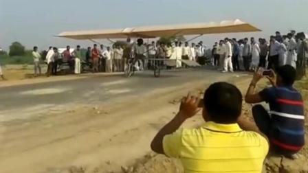 印度民间牛人自制飞机试飞, 原谅我不厚道得从头