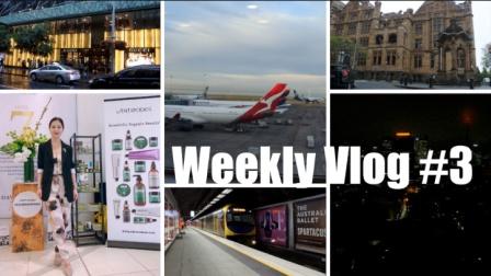 Weekly Vlog #3 | 跟我一起去悉尼✈️ | HiBarbie
