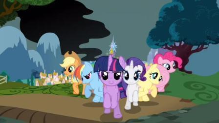 小马宝莉游戏 第一季 小马宝莉之和谐任务 第一块彩色玻璃 苹果图案 碧琪与苹果嘉儿追回
