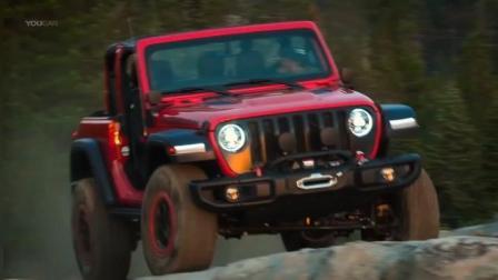 2019款全新jeep牧马人亮相越野能力展示其超强越野性能