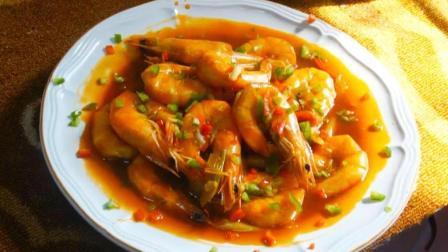 这样烹饪青虾是一种简单的做法, 真正能吃出虾的真味道!