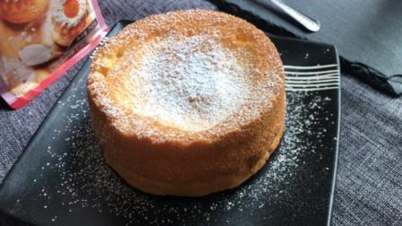 6寸的原味古早蛋糕, 轻松几个步骤即可完成, 松软的口感更具食欲
