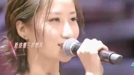 这就是对唱: 美女原创歌曲太洗脑了, 听一遍全场都开始跟着唱