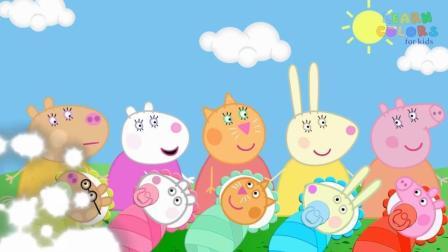 小猪佩奇玩具视频  小猪佩奇动画片1