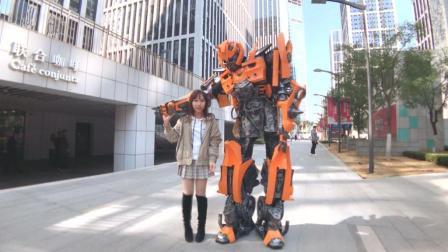 手工达人可穿戴1: 1机器人盔甲