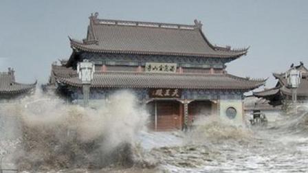 陕西百年神庙能让洪水绕道, 专家都无法解释, 却被三个小孩子破解
