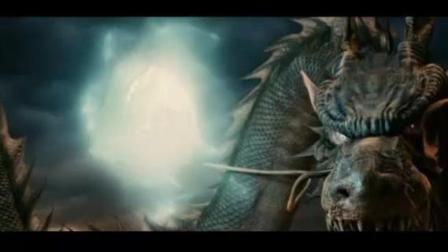 科幻大片《龙之战争》蛇蛟夺龙珠化龙 与巨蟒的厮杀大对决 一招制敌
