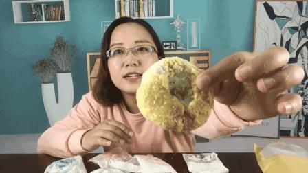 """试吃""""老式月饼"""", 简易的包装吃出来的却是儿时的回忆, 酥掉渣渣"""