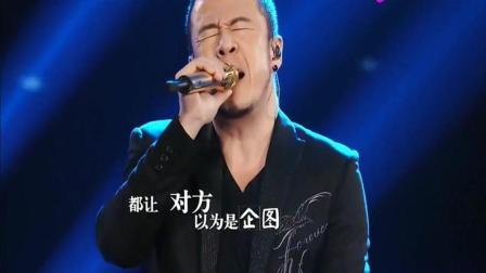 中国好声音: 导师杨坤翻唱那英经典《征服》, 这唱功绝对顶级, 萧敬腾直呼: 有魅力