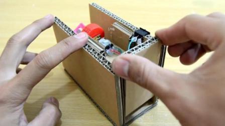 涨姿势: 手工DIY制作卷笔刀 利用废弃的纸皮手工制作削铅笔