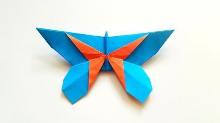 折纸王子折纸镶嵌蝴蝶, 儿童手工, 动手动脑简单易学