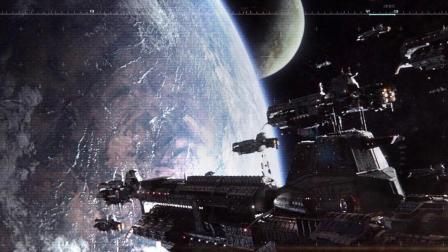 科幻5分钟 地球被毁 人类移居新家园 结果遇上恐怖怪物 速看科幻电影《重返地球》