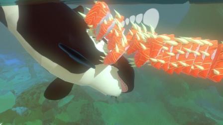 海底大猎杀 我怀疑巨齿鲨这回是不是穿了六件反甲?