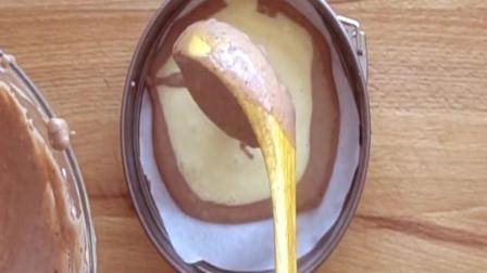 """手把手教你做好看又好吃的""""6寸酸奶斑马纹蛋糕""""酸酸甜甜味道超赞"""