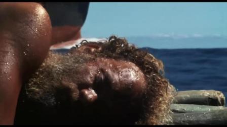 荒岛余生: 在海上漂着的查克, 看到轮船直接喊出了那个名字, 凯莉