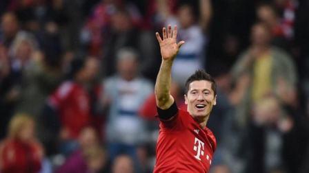 德甲-莱万2射1传罗本染红 拜仁客场3-1狼堡终结不胜