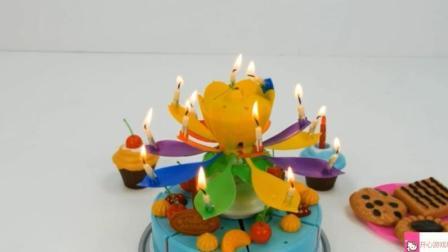 亲子早教益智玩具 培乐多太空沙泥制作彩虹水果蛋糕玩具视频1