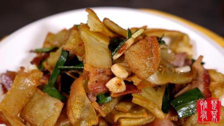 豆丝这样炒出来, 酥脆美味, 有腊肉的香味, 一吃一大盘, 武汉八大名吃!