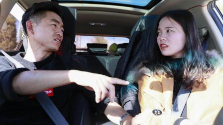 美女学车, 刚上车就被教练赶下去, 气的美女找校长评理, 结局真有意思
