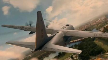这架飞机冒着必死的心闯入美国领空 超燃大片 全程无尿点