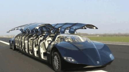 这么奇特的车辆真罕见, 很难得