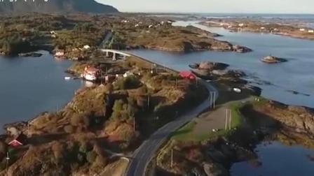 世界上最危险的高速公路, 有一座看似断尾的桥, 被誉为通天之路