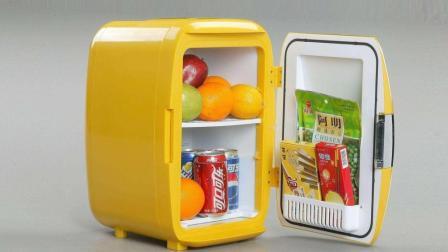 老外发明会抛饮料的冰箱, 射程2.4米, 懒人的福利!