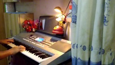 (五星红旗): 电子琴演奏: 纯音乐