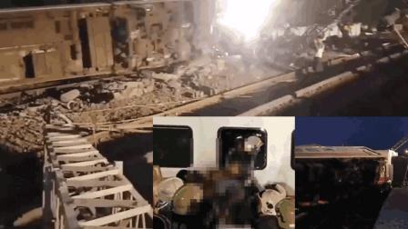 台湾普悠玛列车疑似碾过不明物体造成90度翻覆 已致17死超百人伤